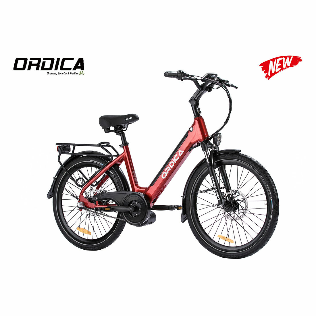 Ordica Neo Mid 24 Inch Red 02