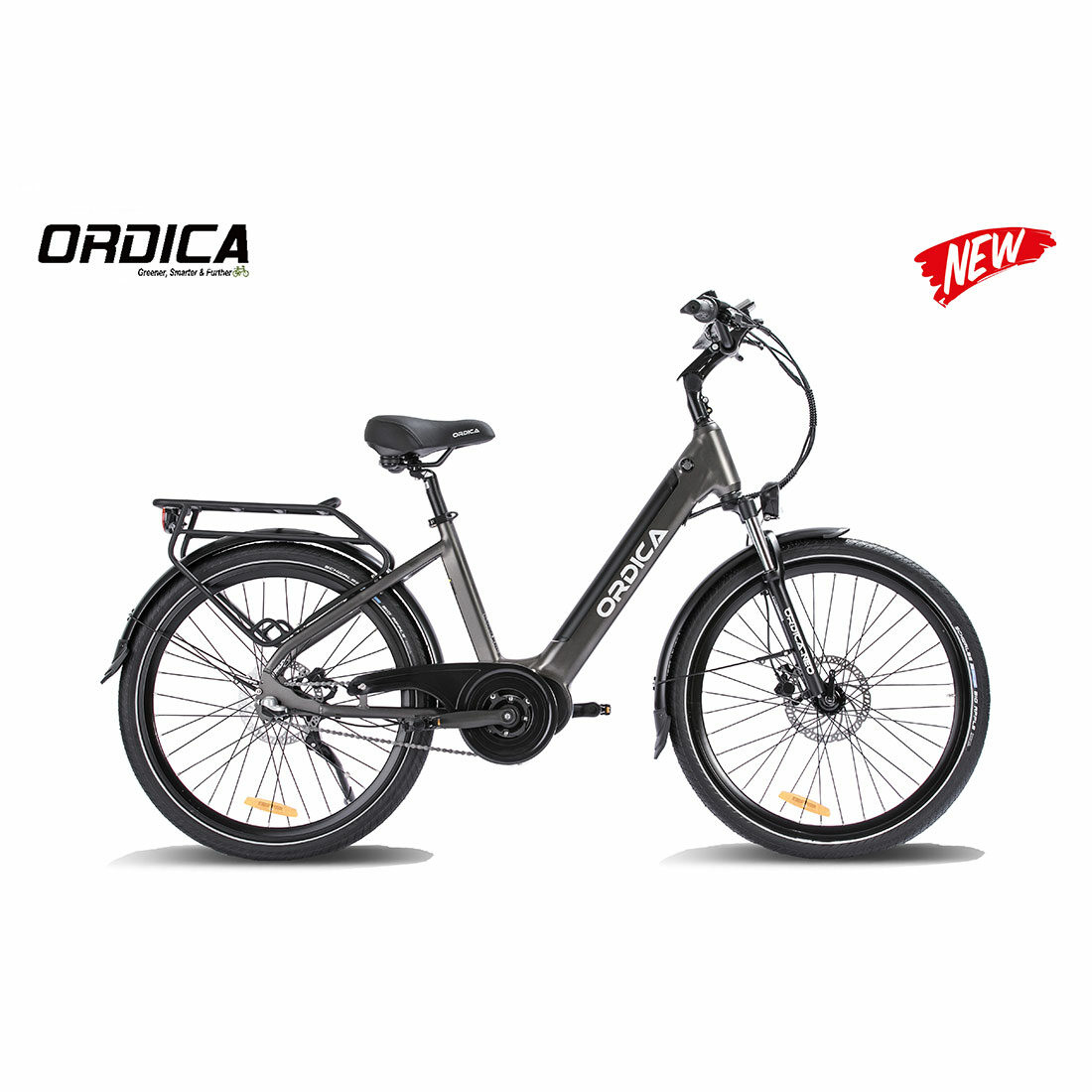 Ordica Neo Mid 26 Inch Charcoal