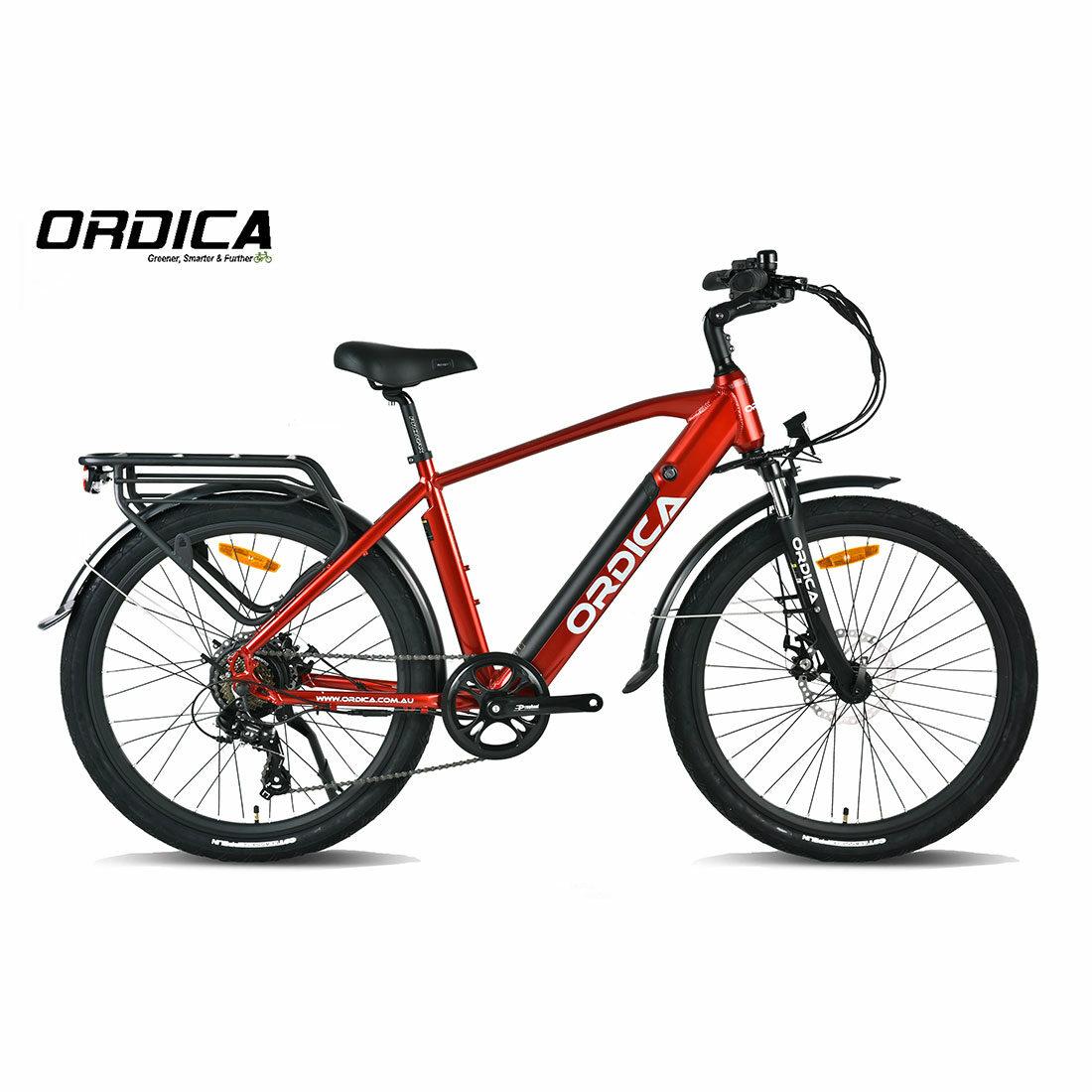 Ordica Swift Hybrid 26 Inch Red