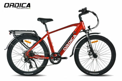 Ordica Swift Hybrid 26 Inch Red