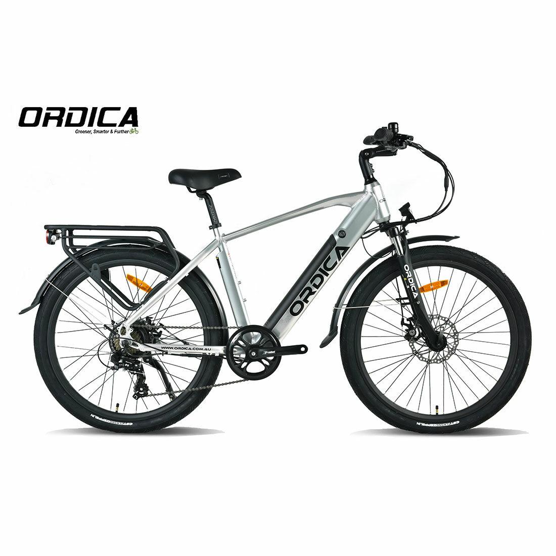 Ordica Swift Hybrid 26 Inch Silver